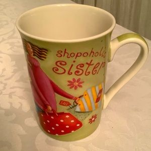 💜3/$30 Shopoholic  Sister  Coffee Mug